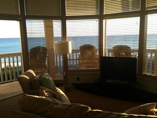 WaterColor Inn: livingroom