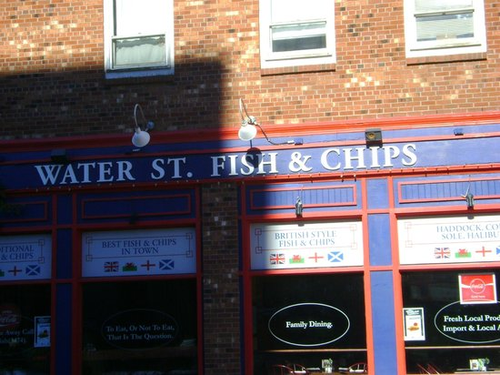 Water St. Fish & Chips : The resto
