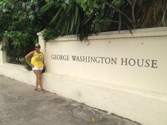 Barbados Garrison: George Washington House & Me