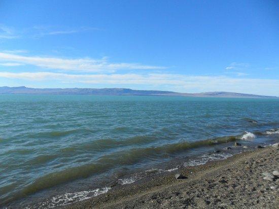 Tehuel Plaza: Lago argentino a 300mt