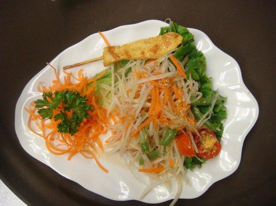 Chaang Thai : Papaya Salad.. Yummy