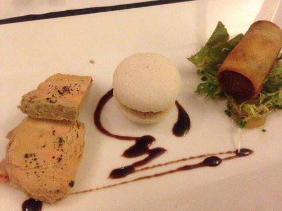 Trois Gourmands: フォアグラの春巻き