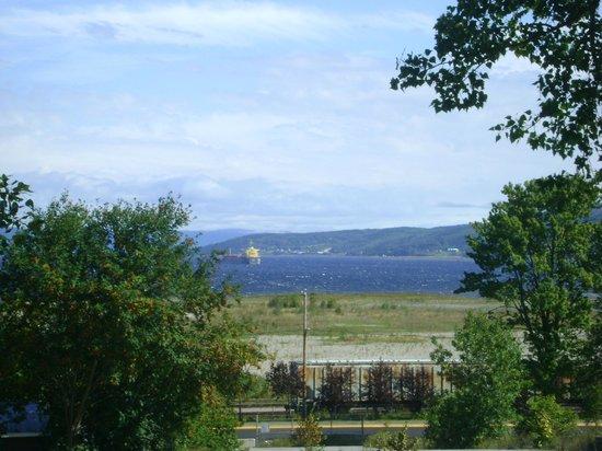 Musée du fjord : Vue sur le Fjord