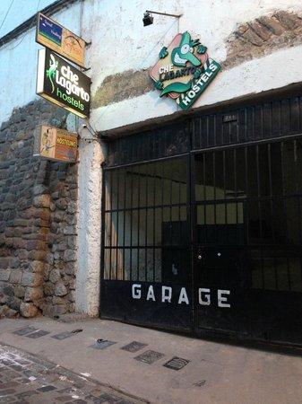 Che Lagarto Hostel Cusco: Entrada