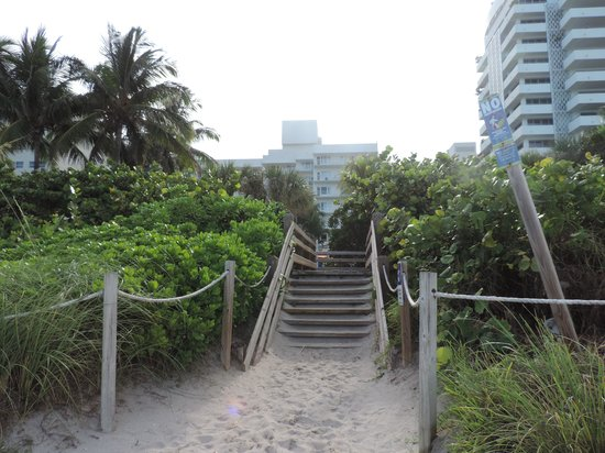 Four Points by Sheraton Miami Beach : Acesso a Praia