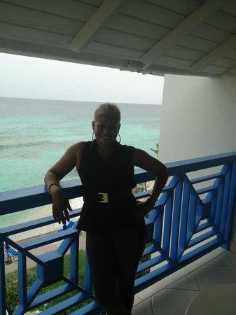 Rostrevor Hotel: balcony view