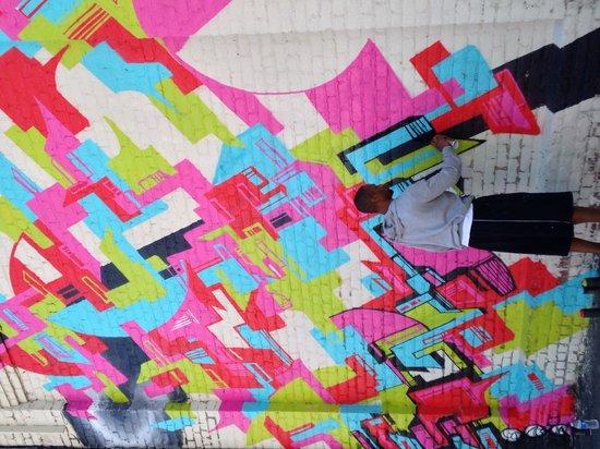 Carytown : Art Exhibit on Warehouse Buildings