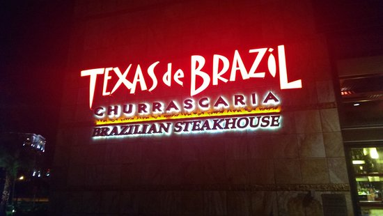 Texas de Brazil: Pretty sign