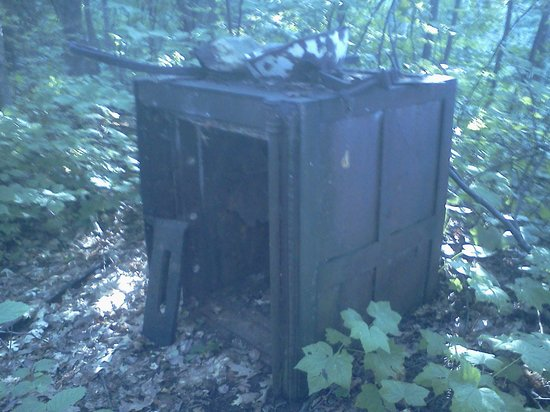 Apostle Islands National Lakeshore: Old safe