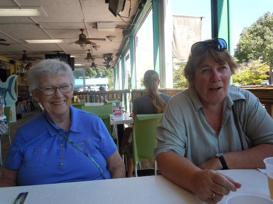 Daiquiri Deck Siesta Key : wife and Grandma