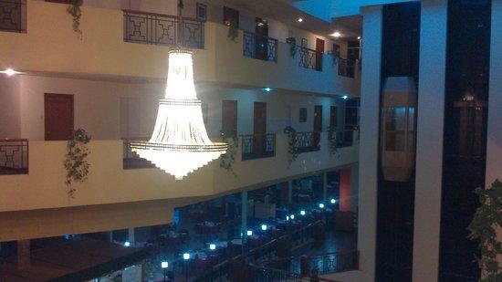 The Monarch Hotel: The interior