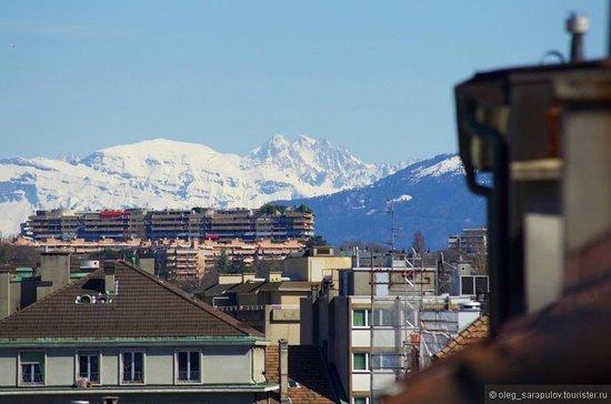 Hotel Kipling - Manotel Geneva: Вид с веранды