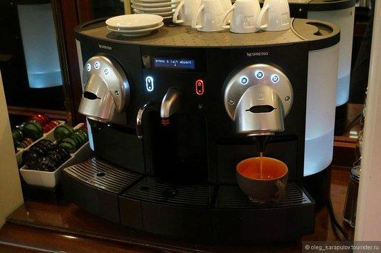 Hotel Kipling - Manotel Geneva: кофе2
