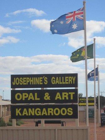 Josephine's Gallery & Kangaroo Orphanage: Josephine's