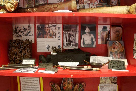 Triangle Tattoo and Museum : Some of the Museum Exhibits