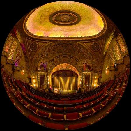 Alabama Theatre: mezzanine
