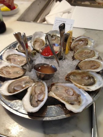B & G Oysters : great oysters