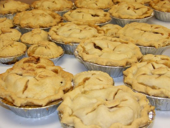 Noble Pies : Lots of pies for Applefest