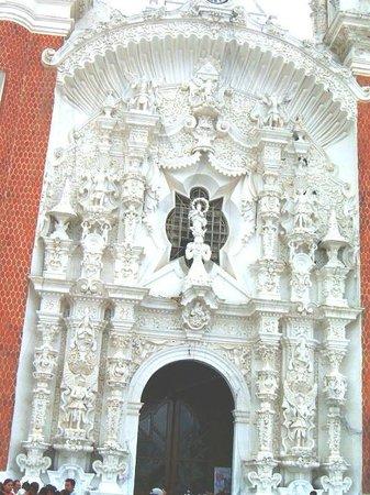 Basílica de Nuestra Señora de Ocotlán: Front of the Basilica of Ocotlan