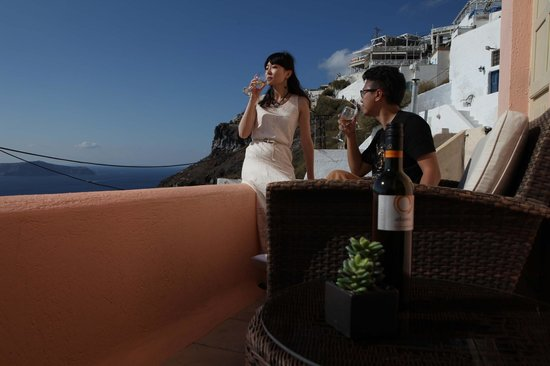 Nefeles Suites Hotel: terrace