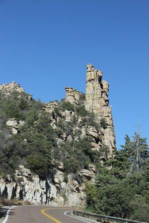 Mt. Lemmon Scenic Byway: Hoodoos