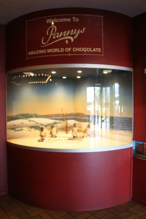 Phillip Island Chocolate Factory: penguins made of chocolate