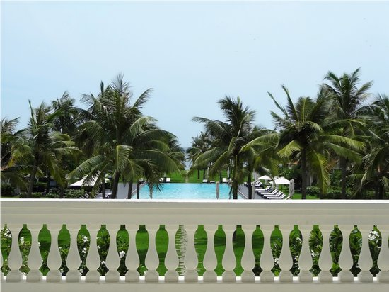 Boutique Hoi An Resort : View from lobby's terrace