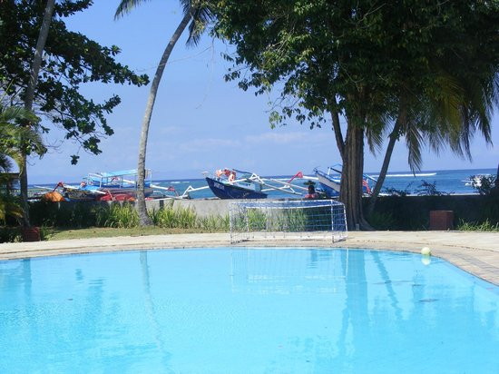 The Santosa Villas & Resort: View from Pool