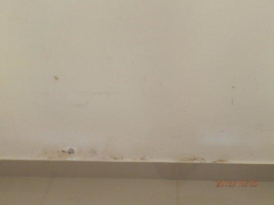 Bali Ayu Hotel: Mouldy walls