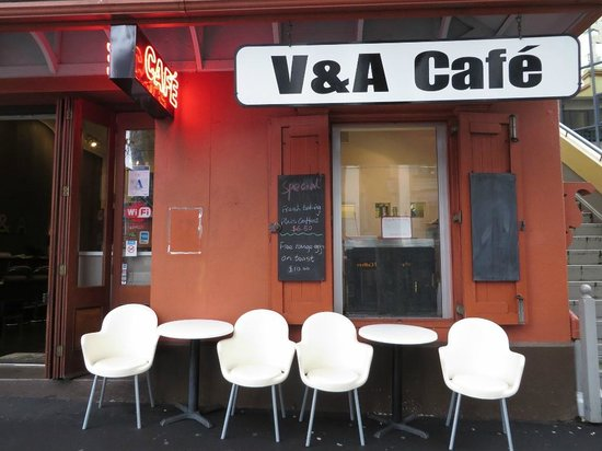 V & A Cafe: Probably the best little cafe in Auckland