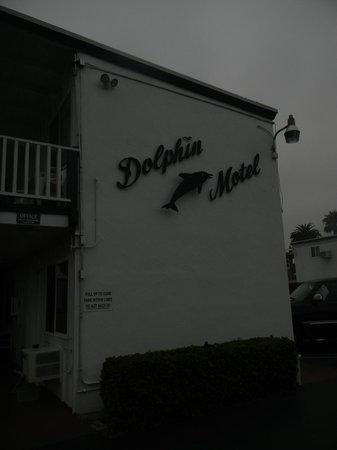 Dolphin Motel: Neón característico.