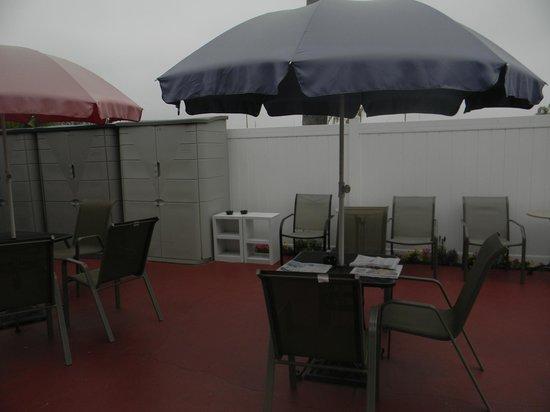 Dolphin Motel: Zona de recreación.