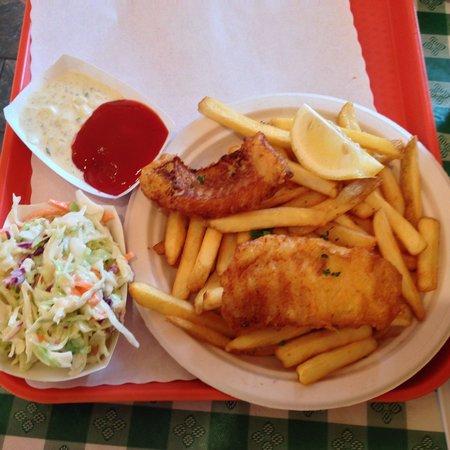 Fish and Chips Sausalito: Fish and Chips