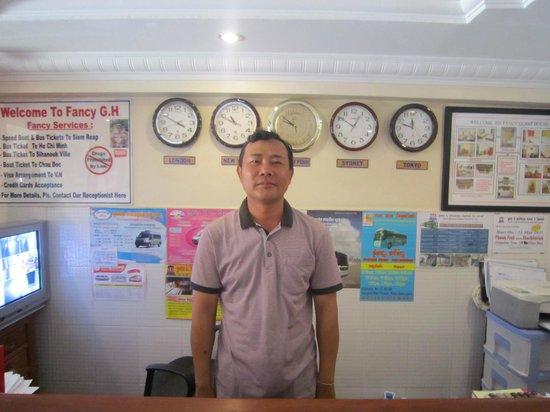 Fancy Guest House: Mr Phannak, best host in Phnom Penh