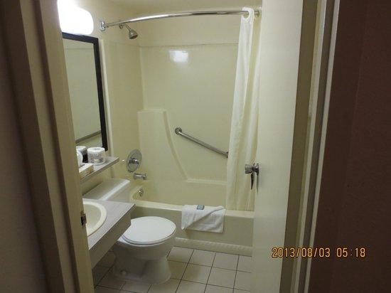 Travelodge Edmonton South : bathroom view