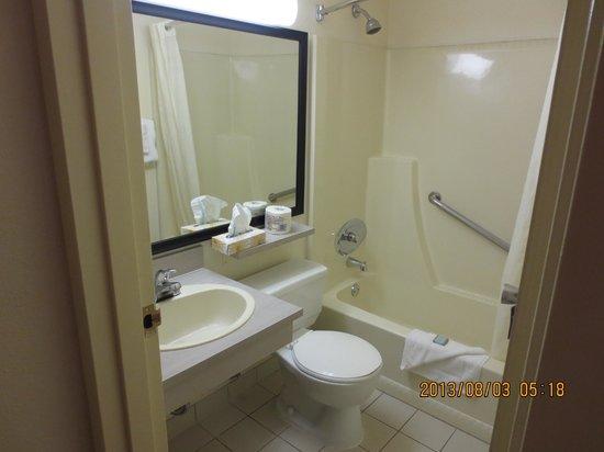 Travelodge Edmonton South : bathroom