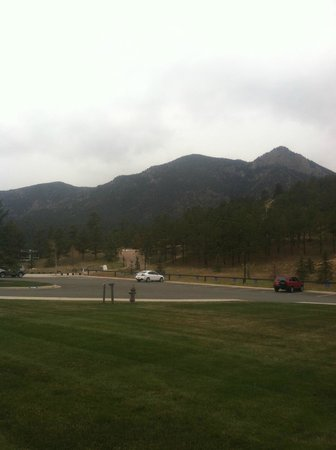 United States Air Force Academy: View close to the Chapel