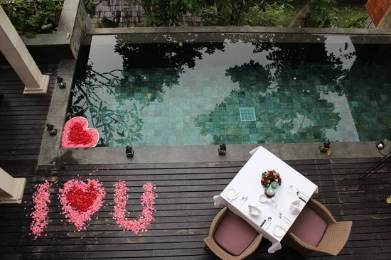 Gending Kedis Villas & Spa Estate: Romantic Decoration
