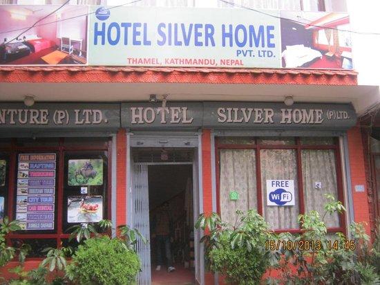Hotel Silver Home in Thamel, Kathmandu, Nepal