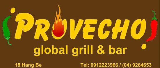iProvecho! Global Bar & Grill: Mexican, BBQ food, Asian food