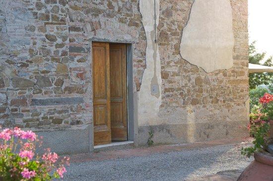 Podere le Cave Door way