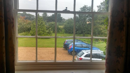 Grange Farm Woolpit: View from the room
