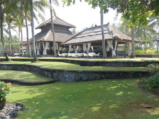 Pan Pacific Nirwana Bali Resort: Blick vom Pool