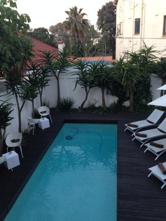 Villa Zest Boutique Hotel: lovely outside area