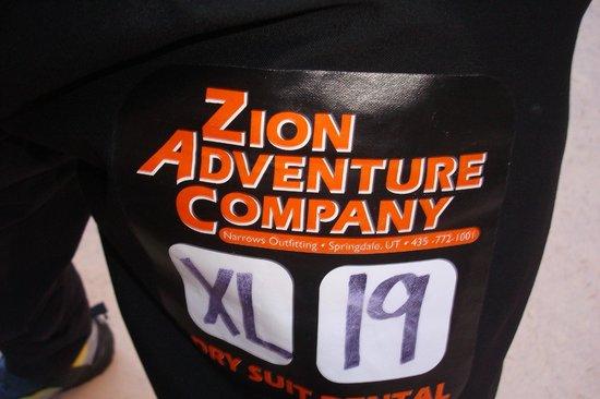Zion Adventure Company : drypant