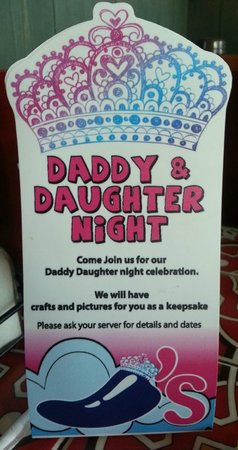 Daddy Daughter Night Chilis Grill Bar Tomball Traveller