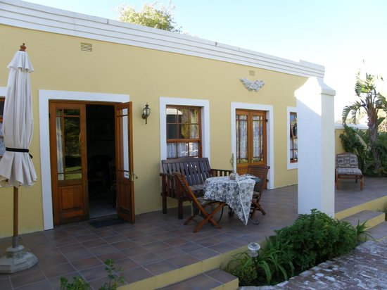 Saxe-Coburg Lodge: Room with outdoor area
