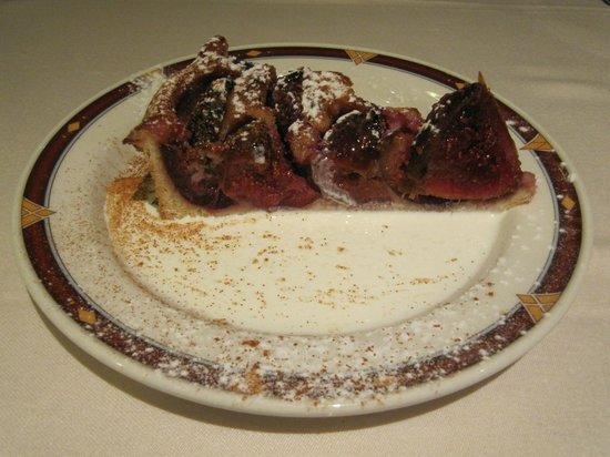 O' Gracia Restaurant : Pastel de Higo