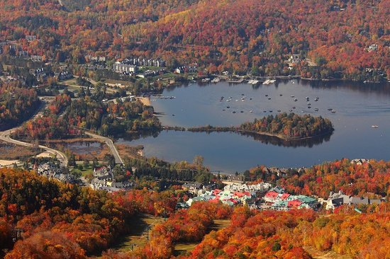 Mont Tremblant, Canadá: fall color