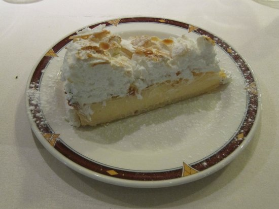 O' Gracia Restaurant : Pastel de Limon